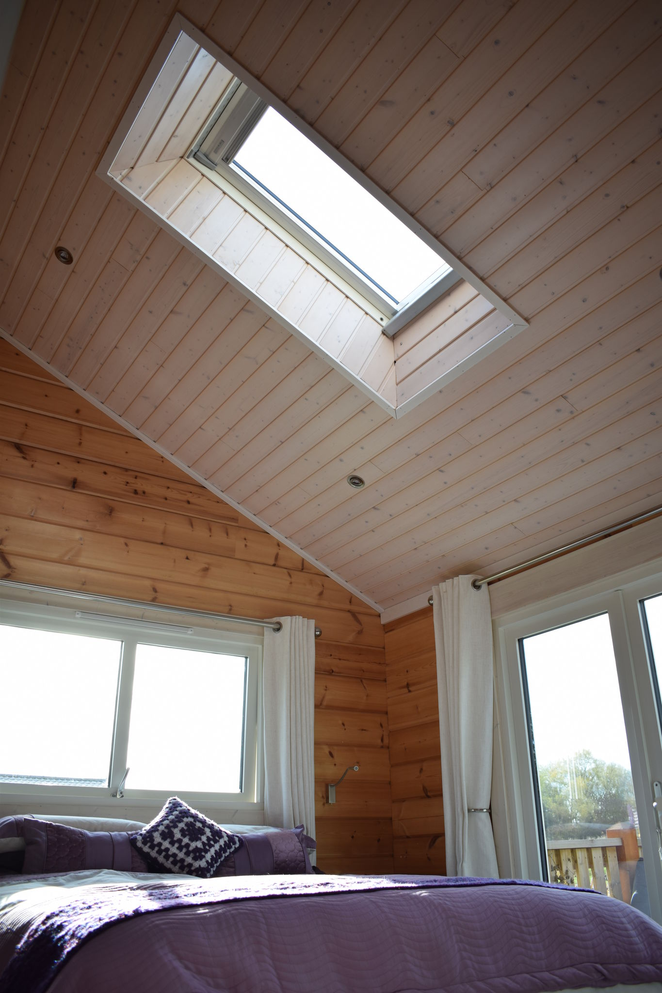 Roof Window in Bedroom