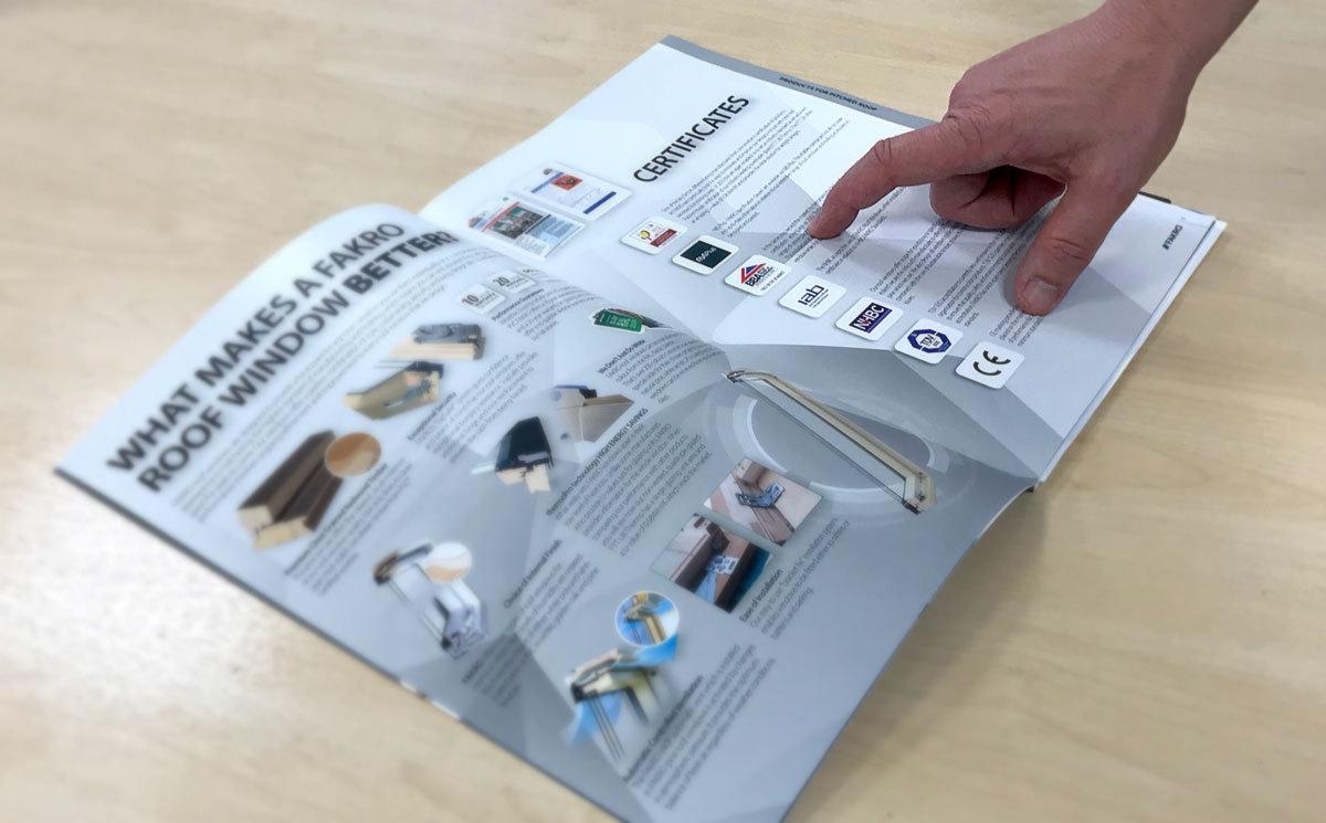 Fakro brochure certificates