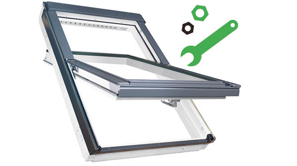Roof window with tools