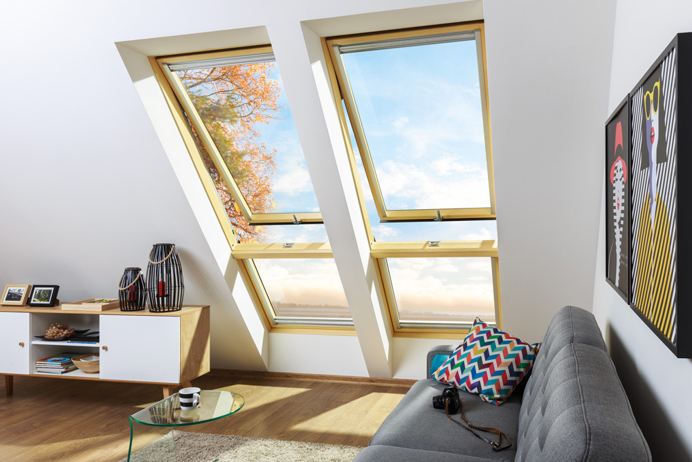 Fakro preselect Max roof window 9